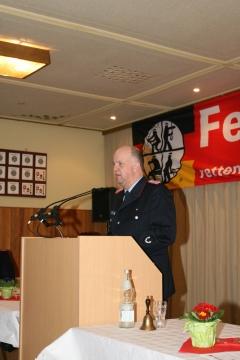 Ortsbrandmeister Michael Helfers
