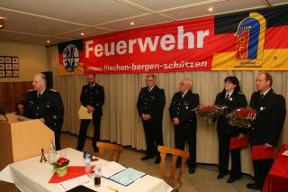Ehrung für 50 Jahre Feuerwehrdienst