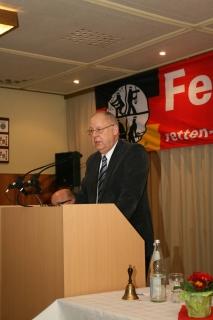 Jürgen Benk, Vorsitzender des Feuerschutzausschusses
