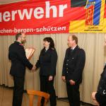 Ehrung für 25 Jahre aktiven Feuerwehrdienst