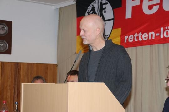 Ortsbürgermeister Patrick Cordes