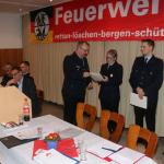 Ernennung zur ersten Hauptfeuerwehrfrau: Karin Bohlmann