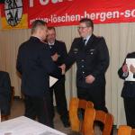 Ernennung zum Löschmeister: Steffen Meyer