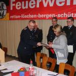 Ehrung für 25-jährige fördernde Mitgliedschaft: Christiana Böttcher