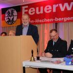 Vorsitzender des Feuerschutzausschuss Wolfgang Kasten