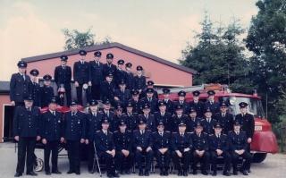 Gruppenbild, 1986