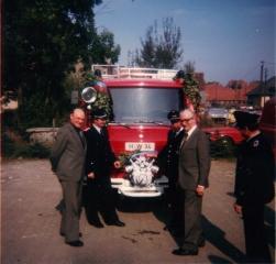 Fahrzeugübergabe, LF-8, 1979